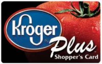 kroger card donation